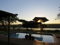 Swimming-Pool-at-Sunset-with-View-of-KNP